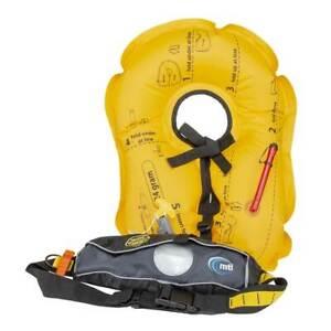 MTI Adventurewear Fluid 2.0 Inflatable Belt PFD Life Jacket Moonlight Black