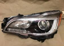 2015 2016 2017 SUBARU OUTBACK Legacy Left LH Halogen HEADLIGHT LED DRL OEM