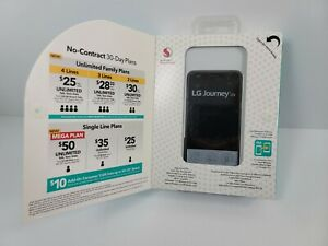 Total Wireless LG Journey 4G LTE Prepaid Smartphone (Locked) - Black - 16GB