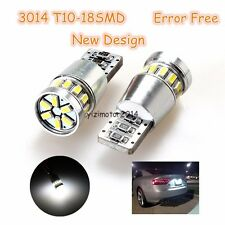 White LED Light license plate light 18SMD-T10 For Honda Accord CIVIC FIT CRZ CRV