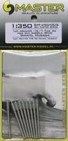 MASTER 1/350 IJN 46cm/45 (18.1in) Type 94 fûts mistolets (9Pcs) #sm35005