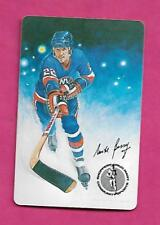 RARE 1980S ISLANDERS MIKE BOSSY SHOPPERS DRUG MART PLAYING CARD  (INV# C0747)
