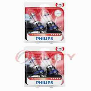 2 pc Philips High Low Beam Headlight Bulbs for Asuna GT SE Sunrunner qe