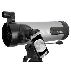 National Geographic 114mm Reflecting Telescope Silver NIB