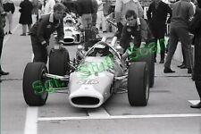 1967 Indy car racing Photo negative Jim Clark Lotus Ford