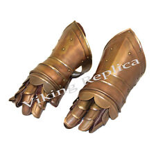 Antique Replica Medieval Knight Metal Gauntlets-Christmas Gift