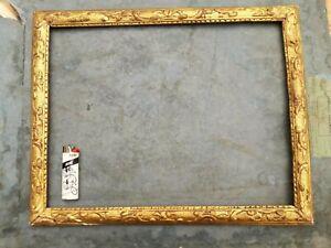 cadre doré REGENCE  berain  bois doré   18ème XVIIIème  belles dimensions