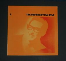 BUDDY HOLLY  Vinyl LP  The Unforgettable Star, The Buddy Holly Story, EX+