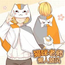 Hot Anime Natsume Yuujinchou Cat Cosplay Cloak Plush Soft Blanket Shawl