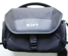 Sony Soft Carrying Shoulder Camera Bag LSC-U21 Size 6x10x7 in