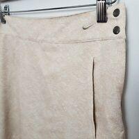 Nike Dri Fit Skort Women's 10 M Athletic Golf Tennis Skirt Shorts Workout Pleats