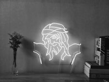 Christ Jesus Real Neon Sign Beer Bar Light Home Decor Hand Made Artwork
