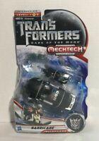 Transformers Mechtech Deluxe Barricade Action Figure New / Sealed