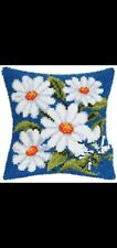 New listing Latch Hook Pillow Kit - 15.7 X 15.7 Inches - Daisies