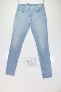 Levis denim curve skinny stretch (Code D1617) Jeans Used Tg.44 W30 L34 Vintage