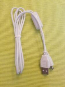 Canon 1m Mini USB Cable - A to Mini B genuine for camera white