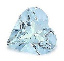 Heart Blue Loose Topazes