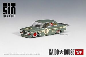 Mini GT 1:64 KaidoHouse Datsun 510 Pro Street Green