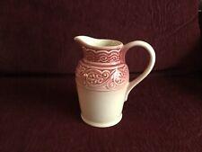 Longaberger Pottery Pitcher American Craft Originals Paprika
