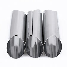 3pcs/set Stainless Steel Spiral Baked Mold Croissants Bread DIY Horn Pastry Tool