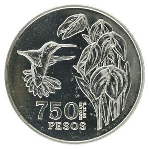 Colombia - Silver 750 Pesos Coin - 'Tomas Cipriano de Mosquera' - 1978 - UNC