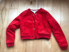 l f markey Kit Jacket Red. A Reversible Red And White Sherpa Jacket. Original.