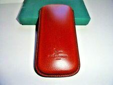 Pheasant Tan Leather Wide  Eyeglass  Case