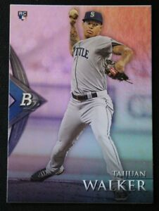 2014 Bowman Platinum #1 Taijuan Walker - NM-MT