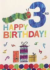The Very Hungry Caterpillar Birthday Card - 1st/2nd/3rd/ Son/Grandson/ Thank you