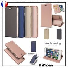 Etui coque housse Magnetic Absorption Stand Wallet Case Cover for iPhone 7+ / 8+