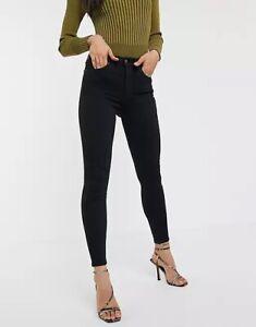 TOPSHOP JAMIE High Waisted Skinny Jeans UK 10 ~ W28 L30~ BNWT