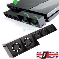 Cooling 5 Fan Cooler For Playstation4 PS4 USB External Turbo Temperature Control