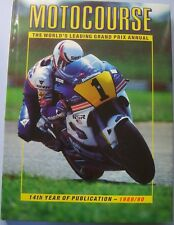 Motocourse 1989-90 Motorcycle Grand Prix Annual 14th ed v good condition with DW