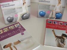 LIVRAISON  ASSURE  2 Ballon de Gymnastique Fitness 65cm + LIVRE D'EXERCICE