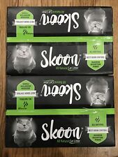 2 New Sealed boxes Skoon All Natural Cat Litter