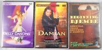 3 x World Music DVD Paket = Live Konzert Damian Djembe Bauchtanzen belly dance