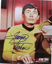 "George Takei as Sulu - Autographed 8""X10"" Photo - Star Trek Original Series 1966"