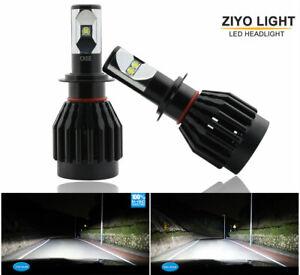 2 Bulbs H7 High Power CREE-XML2 Chips 80W Xenon 6000K White Lamps LED Headlight