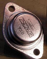 2SC2608 Very Rare GENUINE Sanken TO3 transistor NOS, UNUSED!! ONE Piece