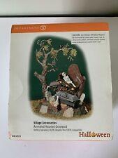 Dept 56 Halloween Animated Haunted Graveyard #56.52513