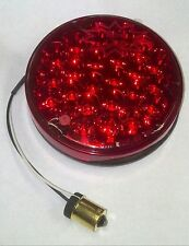 PETERBILT 24 RED LED 4 INCH ROUND SEALED BACK OF SLEEPER WORK LIGHT  GGA 76152