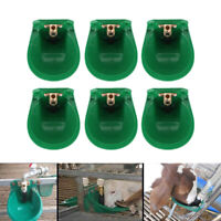 6pcs Automatic Drinker Waterer Drinking Bowl For Sheep Goat Pig Calves