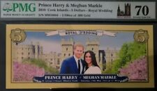 2018, Cook Islands, $5, Real Gold, Royal Wedding, 70 Grade, PERFECT!