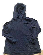 LULULEMON  Pullover Hoodie Sweatshirt size 6  Black Kangaroo Pocket EUC Gym Run