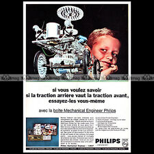 PHILIPS MECHANICAL ENGINEER 1967 - Pub / Publicité / Ad #A1436