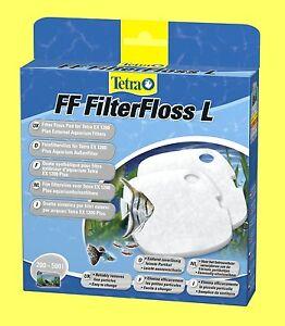 FF Filterfloss L für Tetra Aquarium Außenfilter EX plus 1200 Tetratec