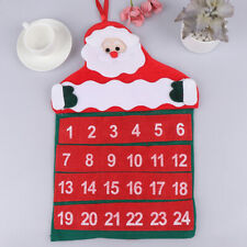 Advent Christmas Calendars Santa Claus Calendar Hotel Lobby Family Pendant
