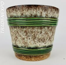 Vintage 60-70 JOPEKO KERAMIK Flower Pot Planter West German Pottery Fat Lava