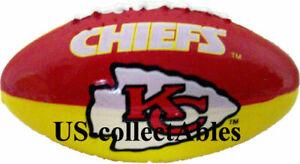 NFL KANSAS CITY CHIEFS Football Keychain Rare Souvenir Sports Collectible Gift