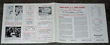 SNOW WHITE AND THE THREE STOOGES orignal 1961 U.K. pressbook GUY ROLFE
